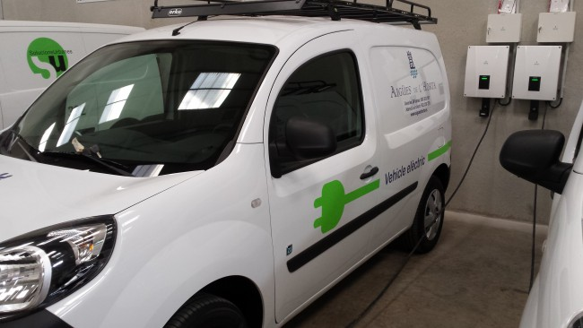 Aigues Horta. Vehicle electric
