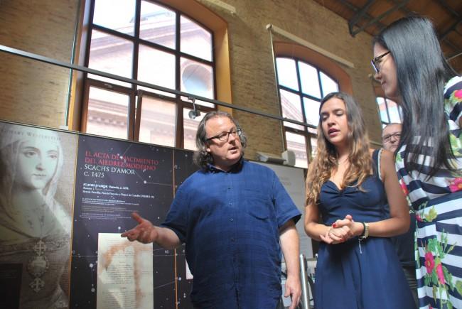 José Antonio Garzón exposición sala tematizada
