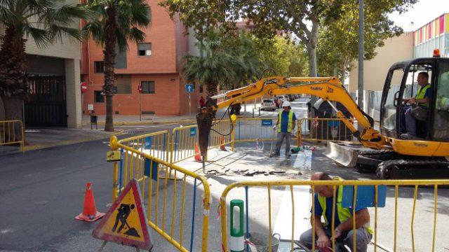Obras Calle Espigol