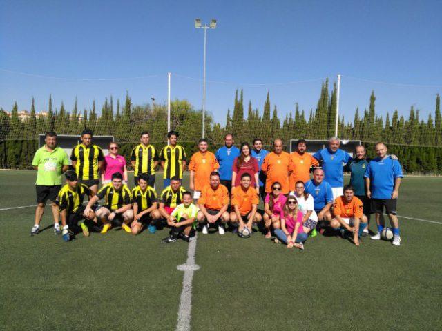 Partido Futbol Ayto-Comisión Fiestas