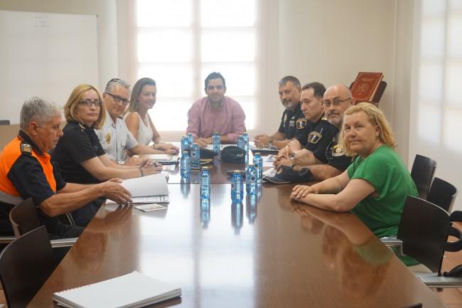 Reunión seguridad Paterna