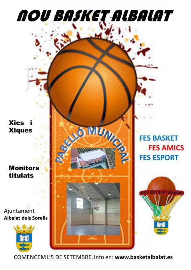 cartel basquet albalat