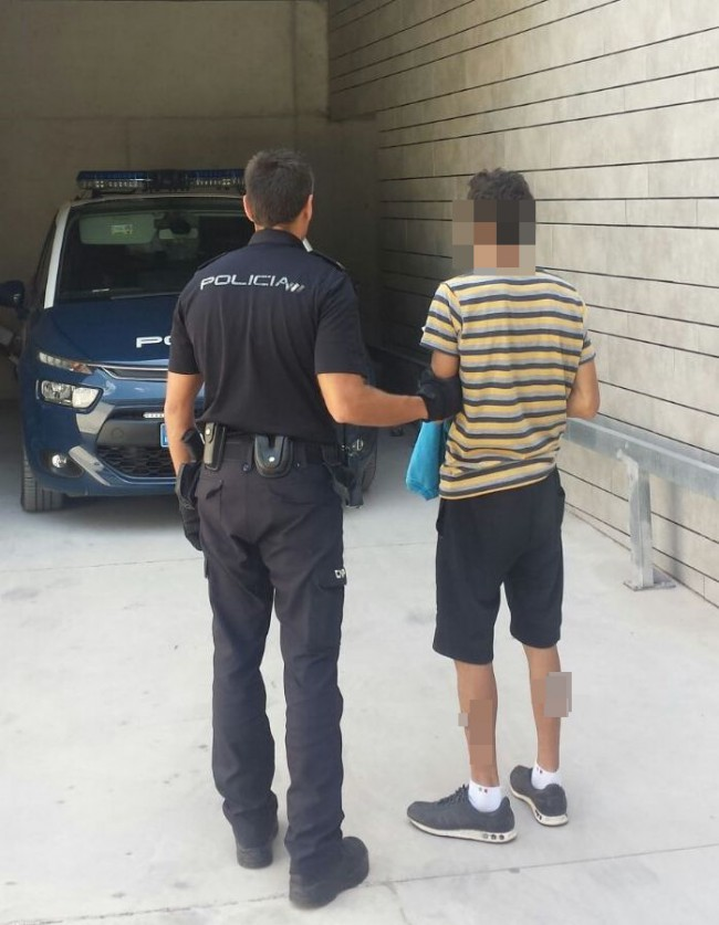 detenido burjassot robo con violencia