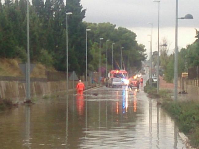 inundaciones godella