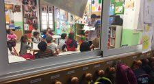 El ruido en los colegios provoca trastornos en la voz a casi la mitad de los niños en edad escolar