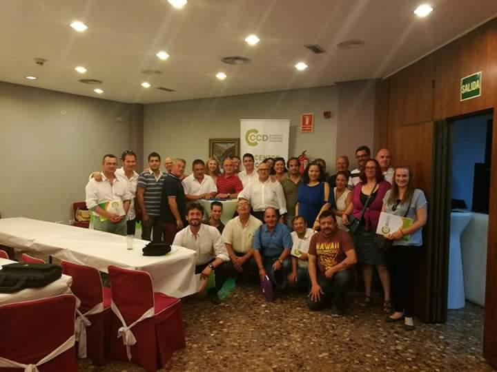 Torrent. congreso Ciudadanos de Centro Democrático