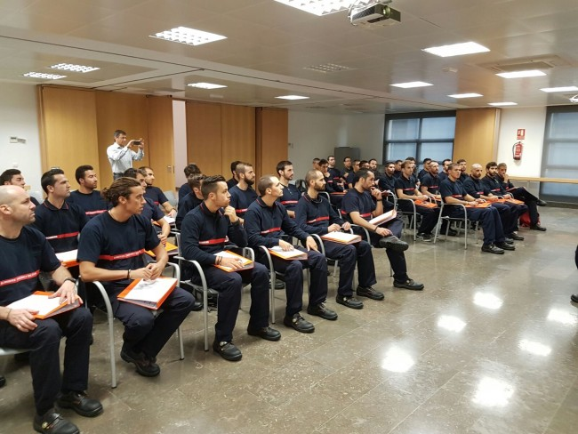36 bomberos se forman para entrar a trabajar como interinos del Consorcio antes de que finalice el año