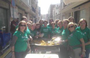 La Junta Local Contra El Cáncer de Sedaví consiguió 1007 euros gracias a su paella solidaria.