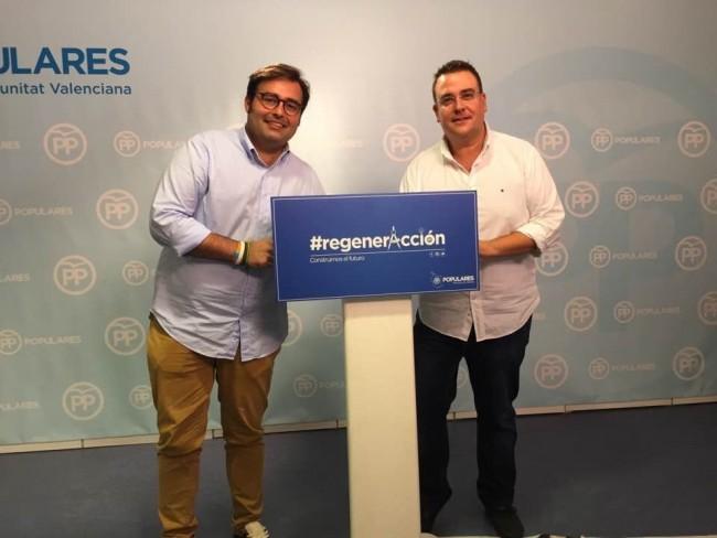 PPHorta Nord Toni Carceller y Miguel Bailach