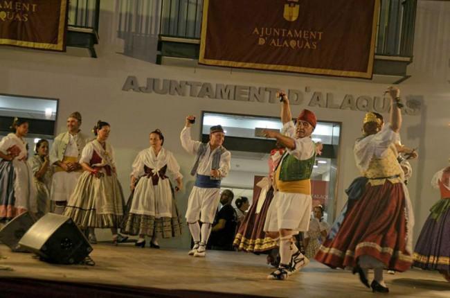 El grup l'Olivar de la Unió Musical d'Alaquàs