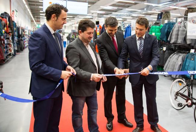 Inauguración Decathlon Alfafar