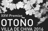 Fernando Barrachina, de Foios, y Carles Cano, de Godella, galardonados en los Premios Otoño Villa de Chiva