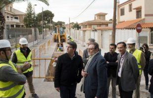 Diputación se felicita por la eficacia de las obras para evitar inundaciones en Moncada, Picanya, Picassent, Sedaví y Torrent
