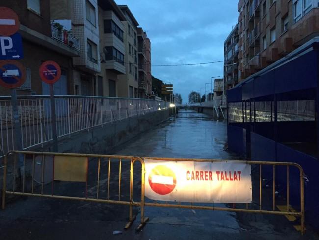 temporal-lluvias-massamagrell-calle-cortada