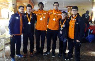 Los representantes del balonmano Mislata regresan exitosos del campeonato de España de selecciones autonómicas