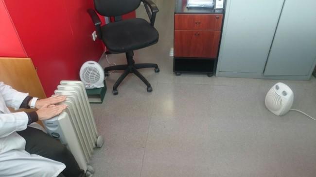 Calefactores centro salud massanassa