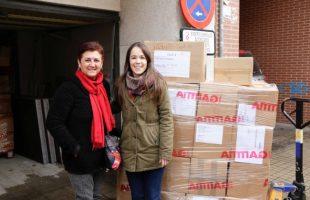 Mislata envía más de 2.000 pares de zapatos a los campamentos de refugiados sirios en la región de Epiro