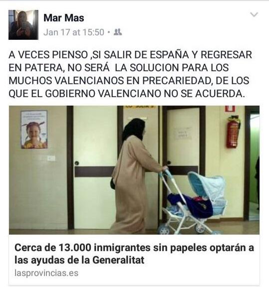 Facebook Marcela Tomás Ciudadanos Catarroja