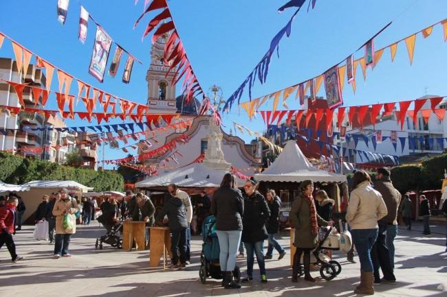 Alfafar celebra la festividad de San Sebastián con su tradicional Feria Medieval