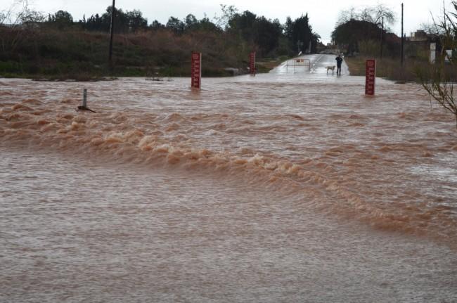 Barranco Carraixet cortado lluvias