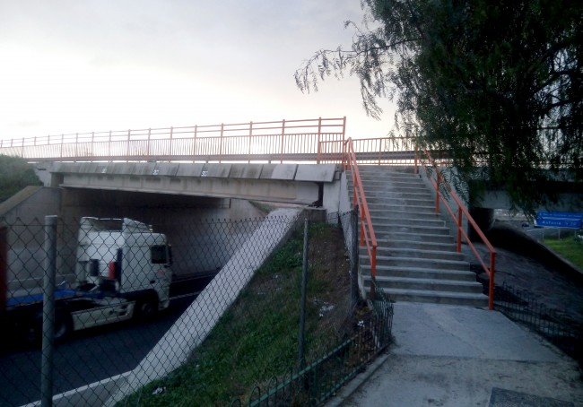 Quart Poblet Rampa Puente Mislata