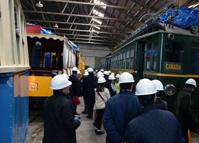 Visita museo ferrocarril Torrent