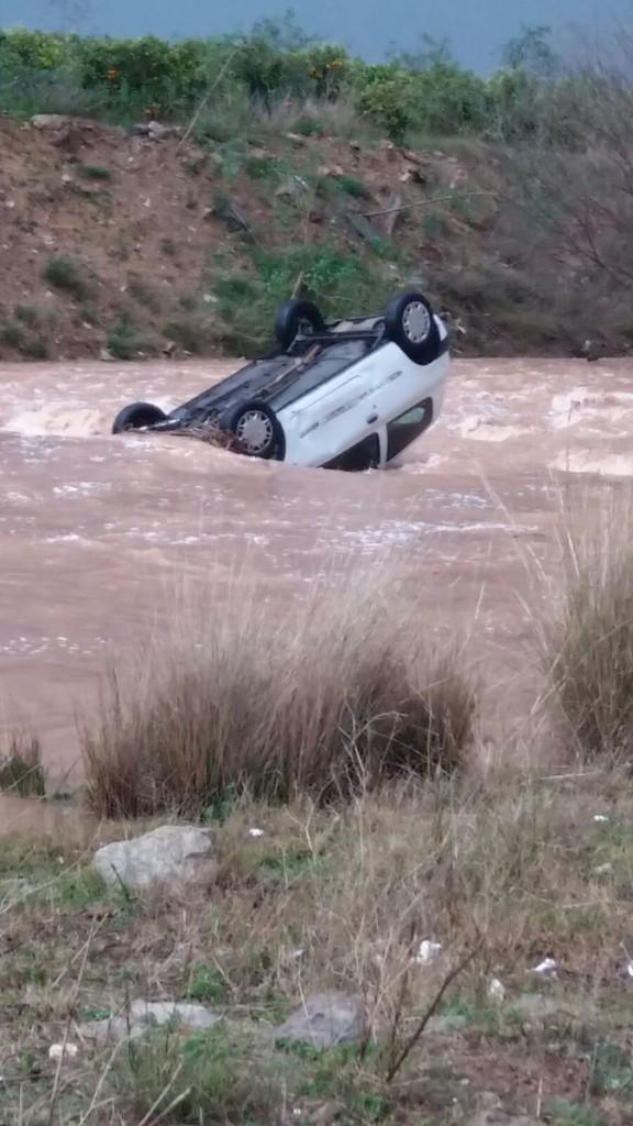 accidente carretera Moncada Foios