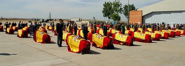 entierro oficial Yak 42