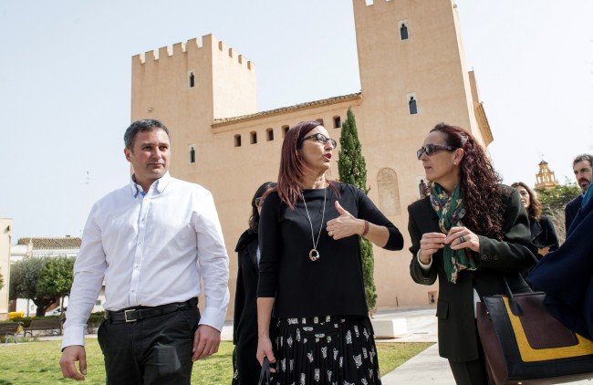 Amigó visita obras en Albalat dels Sorells