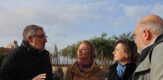 Diputadas PSPV y Ciudadanos visitan Barranco Carraixet
