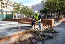 Paiporta. Obras Plaza Mayor