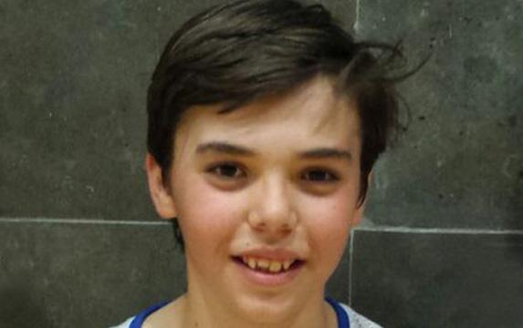 Lucas Marí, de la escuela de baloncesto de Godella, convocado con la selección española U13
