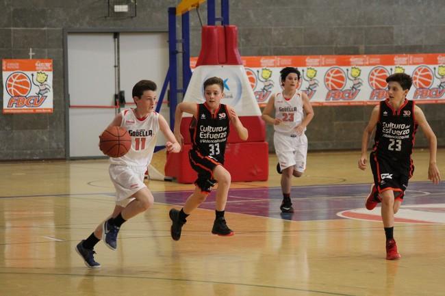 L'Infantil masculí del CB L'Horta Godella, classificat per al campionat d'Espanya