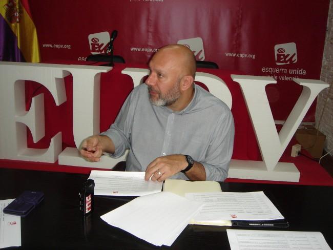 Ricardo Sixto diputado EUPV Congreso de los Diputados