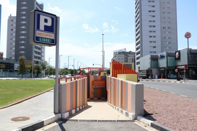 Torrent aparcamiento Juan Carlos I