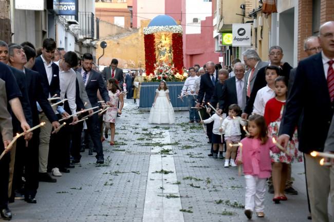 Torrent va celebrar la festivitat de la Mare de Déu del Rosari