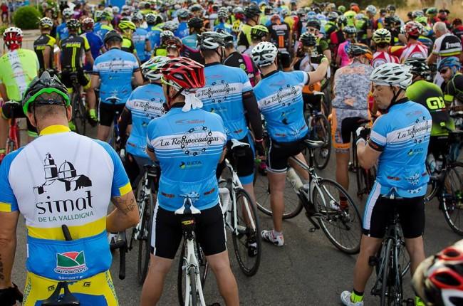 rompecadenas marcha cicloturista de Torrent