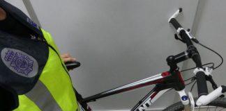 Bicicleta robada vendida en internet