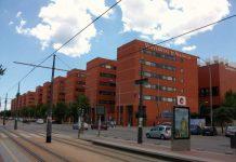 Campus dels Tarongers Universitat de Valencia parada tramvia