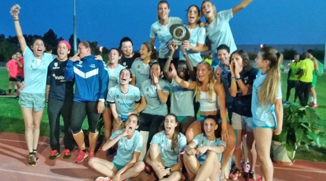 Club atletismo Valencia campeonas de España