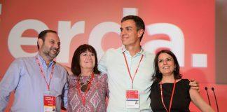 Congreso PSOE Pedro Sánchez y Jose Luis Abalos