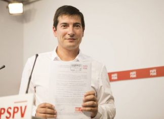 Rafa García presentacion candidatura SG PSPV