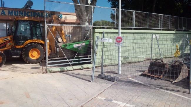 Reforma piscina municipal Foios