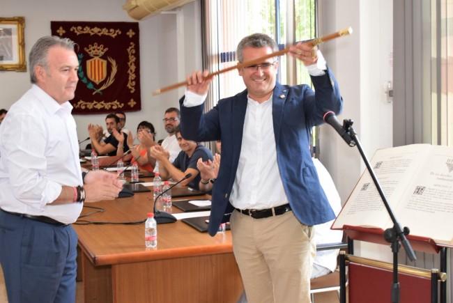 Ricard Barberà, de Compromís, toma posesión como alcalde de Xirivella