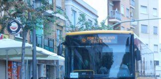 autobús playa paterna