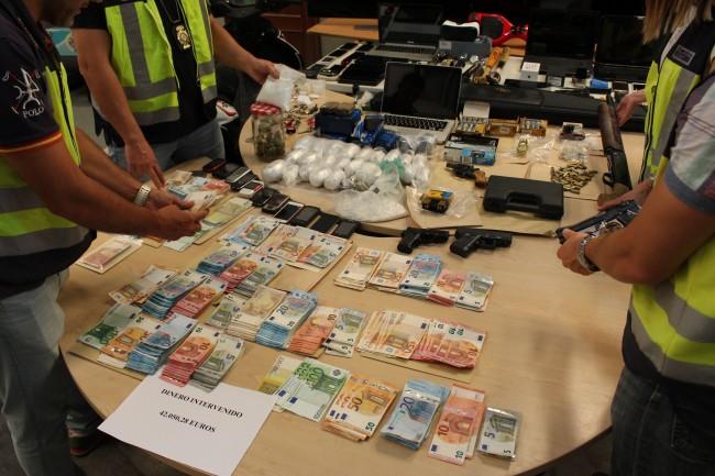 Operación policial Manises tráfico de drogas