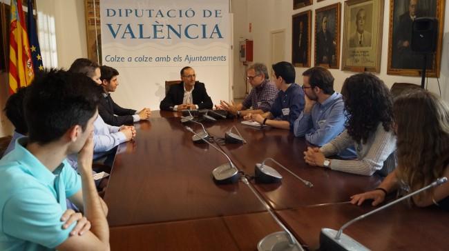 Reunión Diputación Municipios Red Retención del Talento
