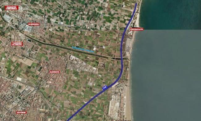 ampliación V-21 entre Carraixet y Valencia