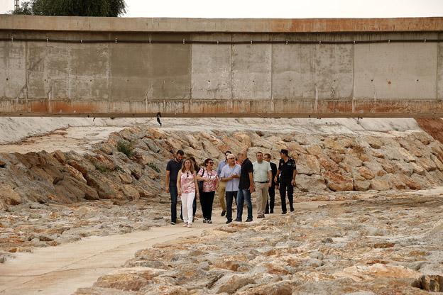 El Consell finalitza les obres de 6 kilòmetres de canalització del Barranc de Puçol i El Puig