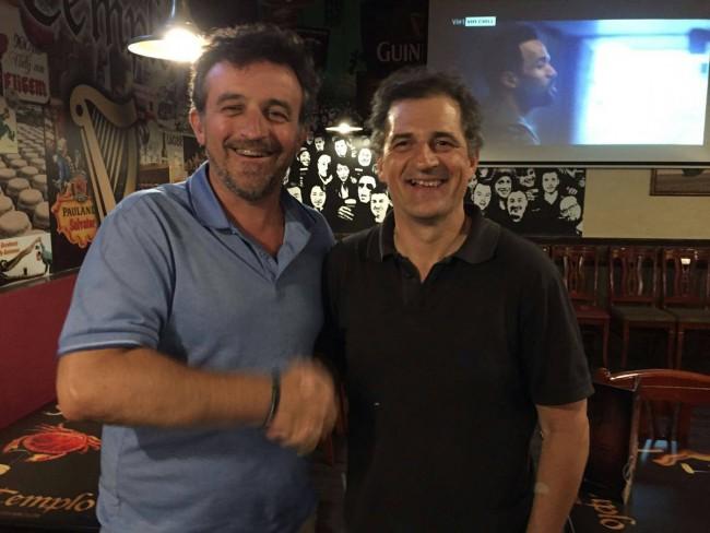 Voro Maroto (derecha de la foto) nuevo presidente Jovens Almàssera